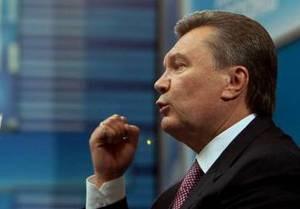 Янукович: В Украине слишком увлекались дудением в  вузели