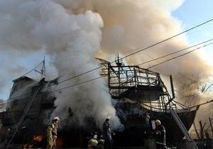 МЧС назвало причину пожара в элитном одесском ресторане
