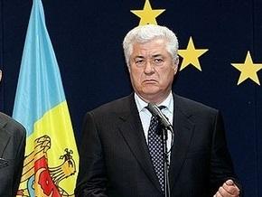 Воронин попросил Запад помочь справиться с демонстрантами в Кишиневе