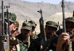 НАТО: В Афганистане в результате затяжных боев убиты полсотни боевиков