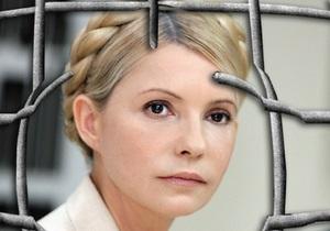 Тимошенко в СИЗО сидит в камере без евроремонта и не ест приготовленной там еды