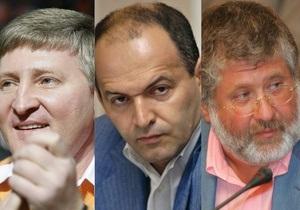 Украинские миллиардеры Forbes. Справка