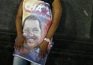 В палестинском городе одну из улиц переименовали в честь Чавеса