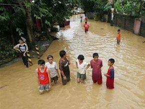 Жертвами наводнения на Филиппинах стали 140 человек