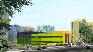 Архиматика  завершила проектирование фитнес-центра в ЖК  Комфорт Таун