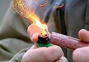 Новый год 2013 - За сутки милиция изъяла 2,5 тонн нелегальной пиротехники