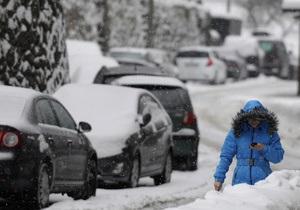 За сутки из снежного плена освободили почти 400 машин, трасса Киев - Чоп разблокирована