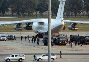 В Астане подтверждают, что пилоты задержанного самолета с оружием имеют гражданство Казахстана