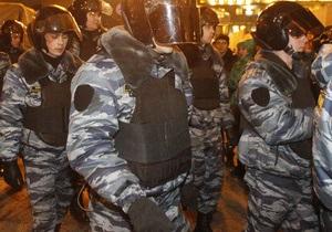 В Москве готовятся к новому митингу: Триумфальная площадь оцеплена полицией