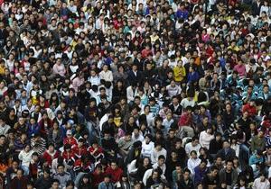 За год население Пекина увеличилось на 600 тысяч человек