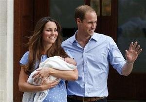 Новости Великобритании - Уильям и Кейт - принц Джордж: Принц Уильям и герцогиня Кейт получили свидетельство о рождении сына