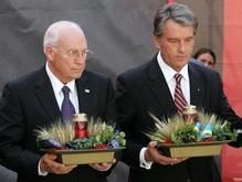 Фотогалерея: Как Ющенко Чейни встречал