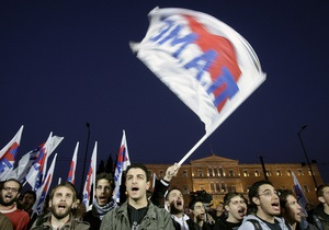В Афинах произошли столкновения между полицией и демонстрантами