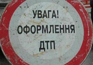 В Кировоградской области перевернулся грузовик с опасным грузом