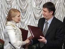 Коалициада: БЮТ и НУ-НС начали консультации. Литвин не пришел