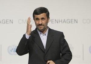 Ахмадинеджад назвал США и Израиль инициаторами массовых беспорядков в Тегеране