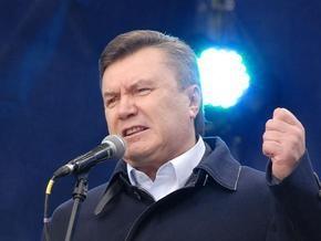 Янукович не исключает попытку власти сорвать выборы Президента