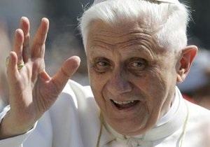 Папа Римский Бенедикт XVI прибыл с визитом в Мексику