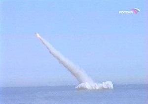 ВМФ РФ: Испытания Булавы продолжатся после выяснения всех причин неудачных пусков