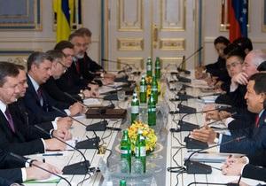 Встреча Януковича и Чавеса: Украина начнет добычу нефти и газа в Венесуэле