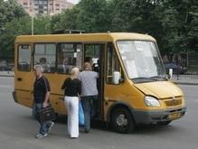 Водители маршрутных такси продолжают забастовку