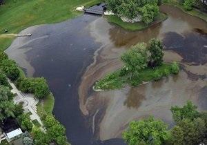 Авария на трубопроводе Chevron: несколько тысяч литров нефти вылилось в реку американского Солт-Лэйк-Сити