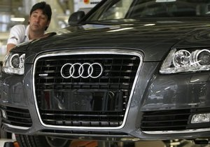Audi увеличивает объем продаж на фоне кризиса