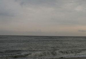 На диком пляже вблизи Феодосии сошел оползень