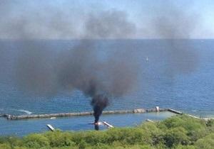 В Одессе взорвалась яхта, один человек пострадал