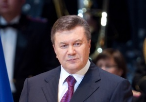 Янукович прокомментировал решение КС по красным флагам