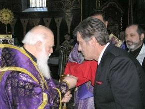 Ющенко не сомневается в создании единой поместной православной церкви