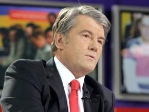 Ющенко посетил выставку картин Марии Приймаченко