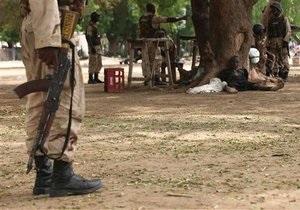 В Нигерии в результате столкновений сил безопасности с исламистами погибли около 70 человек