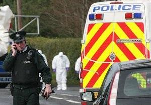 В Северной Ирландии у здания британской разведки взорвался заминированный автомобиль