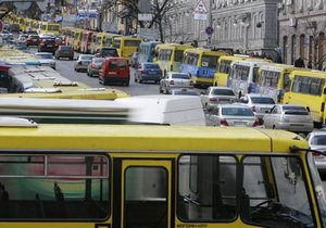 Новости Киева - забастовка маршрутчиков - маршрутки - Забастовка маршрутчиков. Обнародован список городов, которые остались без сообщения с Киевом