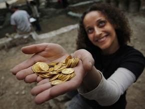 В Иерусалиме обнаружен крупный монетный клад