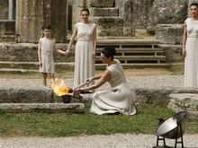 В Греции началась церемония зажжения Олимпийского огня