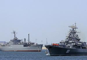 Черноморский флот не собирается передавать Украине места базирования своих кораблей
