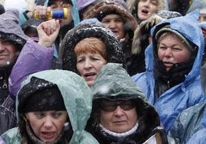 Предприниматели приостановили акцию протеста на Майдане