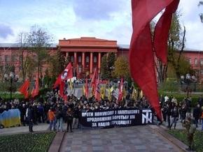 Более 100 человек задержаны на марше в честь УПА