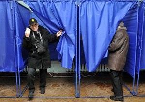 В Украине проголосовали около 50% избирателей