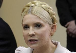 Тимошенко требует возбуждения дела против судьи Киреева