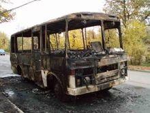 В Запорожье в автобусе сгорели четверо пассажиров