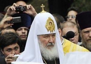 Патриарх Кирилл посетит Украину в июле