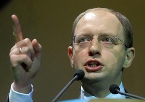 Яценюк намерен в 2015 году вновь баллотироваться в президенты