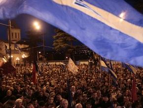 Грузинская оппозиция потребовала вернуть телевидение народу