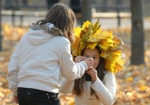 Бабье лето в Киеве наступит в начале октября