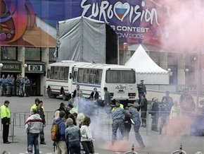 Московская милиция: Евровидение прошло спокойно
