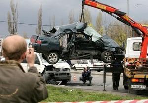 Фотогалерея: Со смертельным исходом. Резонансное ДТП на дороге в Борисполь