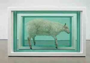 Распиленная овца Дэмиена Херста ушла с молотка за три миллиона долларов